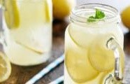 Perlivá citronová limonáda