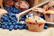 Skvělé borůvkové muffiny
