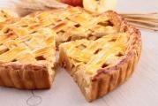Sváteční jablečný koláč
