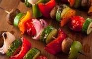 Vegetariánské špízy