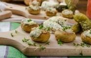 Zapečené houby se sýrem