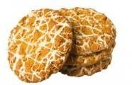 Zdobené ovesné sušenky