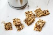 Zdravé křupavé sušenky